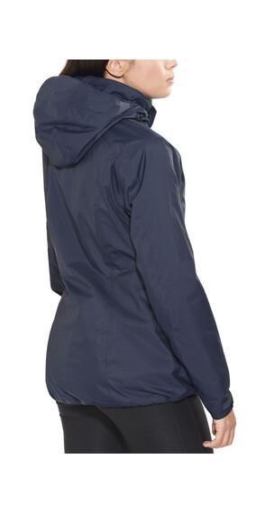 Jack Wolfskin Arborg 3in1 jakke Damer blå